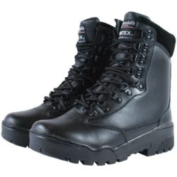 LEATHER TACTICAL BOOTS MILTEC