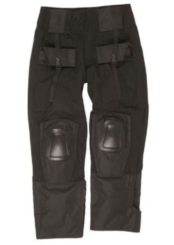 BLACK COMBAT PANTS ′WARRIOR′ της MilTec