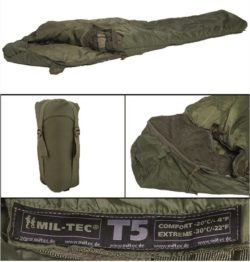 OD TACTICAL 5 SLEEPING BAG της MilTec