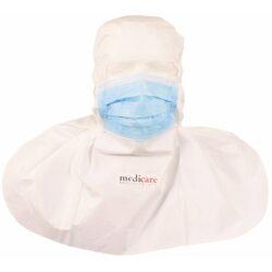 Αντιμικροβιακή κουκούλα-μάσκα