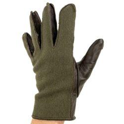 Γάντια ψύχους μαλλί-δέρμα