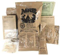 MREs στρατού ΗΠΑ