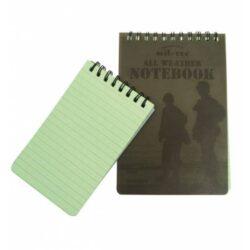 Αδιάβροχο σημειωματάριο MilTec® 10Χ15 εκ.