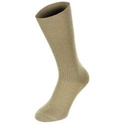 Θερινή μάλλινη κάλτσα μαύρη